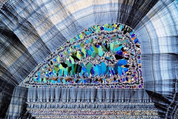Компьютерный пример формирования воды из диоксида кремния