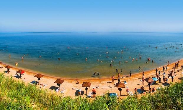 beach of Azov Sea