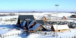 зимний горнолыжный курорт Казань Свияга-1