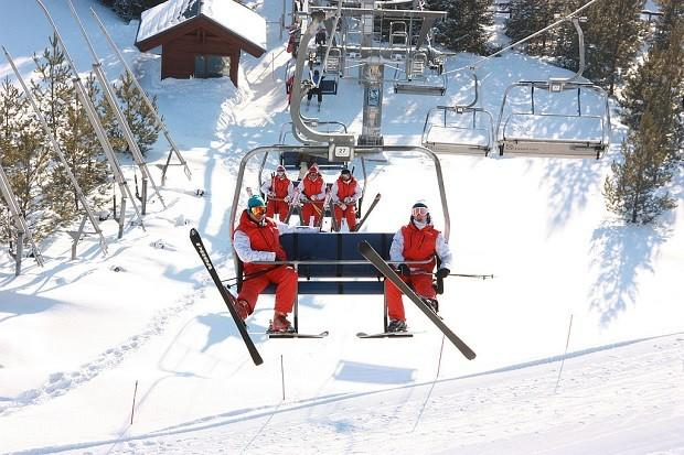зимний горнолыжный курорт Казань Свияга-4