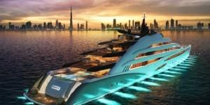 Amara, Oceanco?s newly designed and engineered 120-meter private yacht concept, designed in collaboration with Sam Sorgiovanni Designs was unveiled by His Excellency Saeed Harib, Secretary General of Dubai Sports Council, Vice President and Chairman of Dubai International Marine Club -...